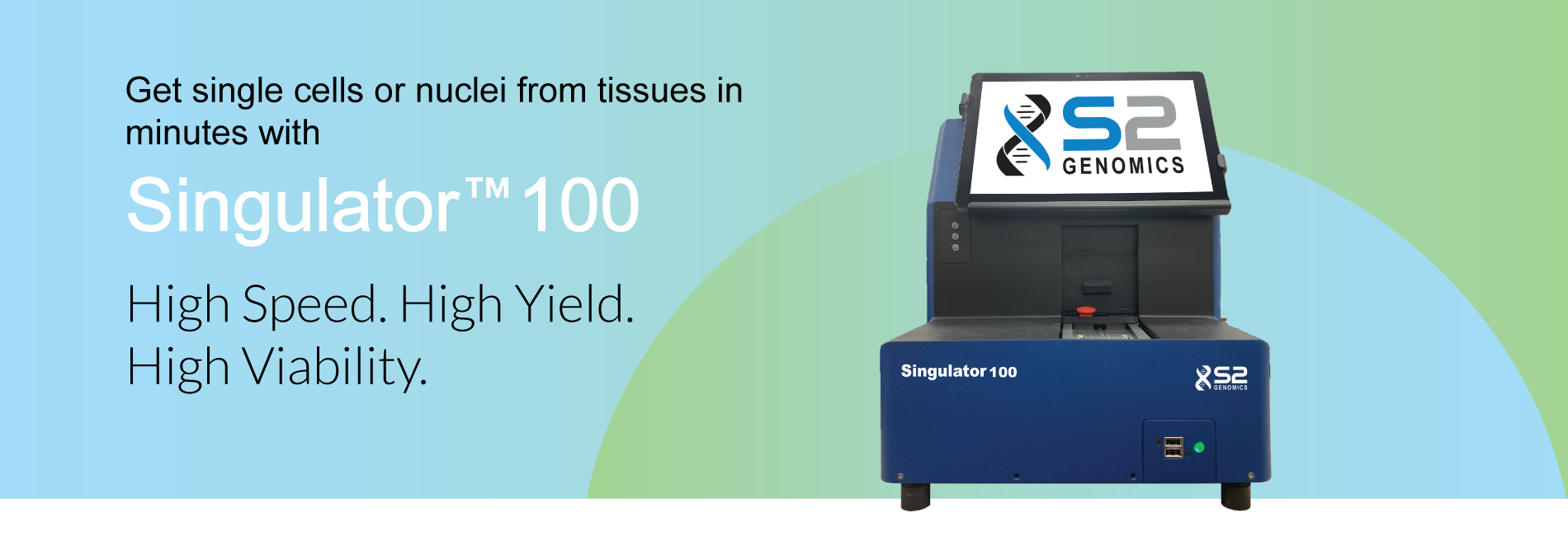 Singulator-100-S2-Genomics-Automated-Tissuel-Prep-System-for-Single-Cell-Analyses